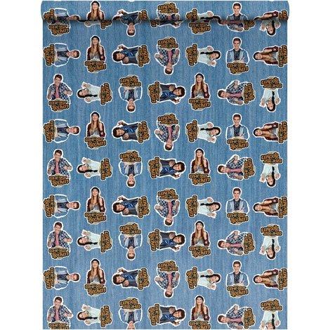 Kaftpapier Ghost Rockers: 2 x vel 100x70 cm