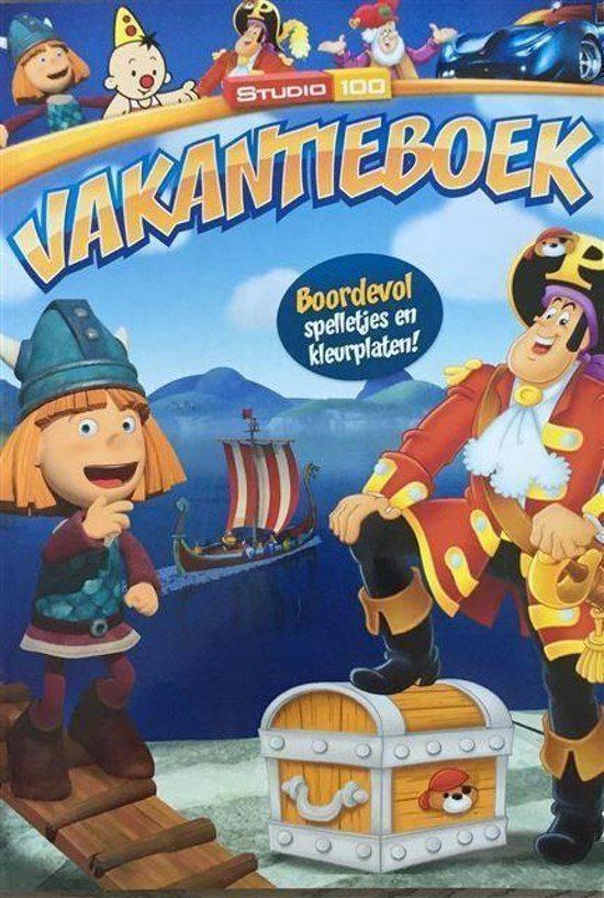 Vakantieboek Studio 100: jongens