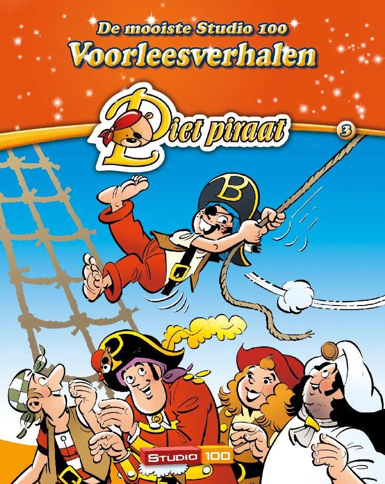 Boek Piet Piraat: voorleesverhaal