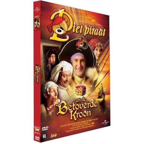 Dvd Piet Piraat: de betoverde troon