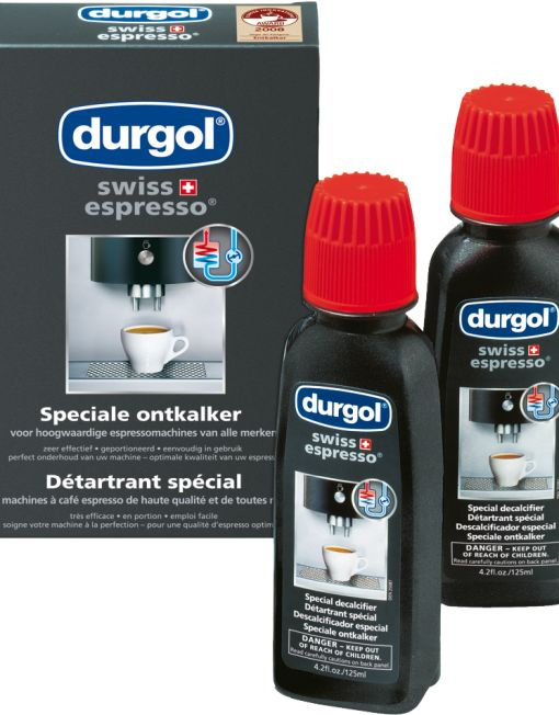 Durgol Swiss espresso descaler 6 bottles