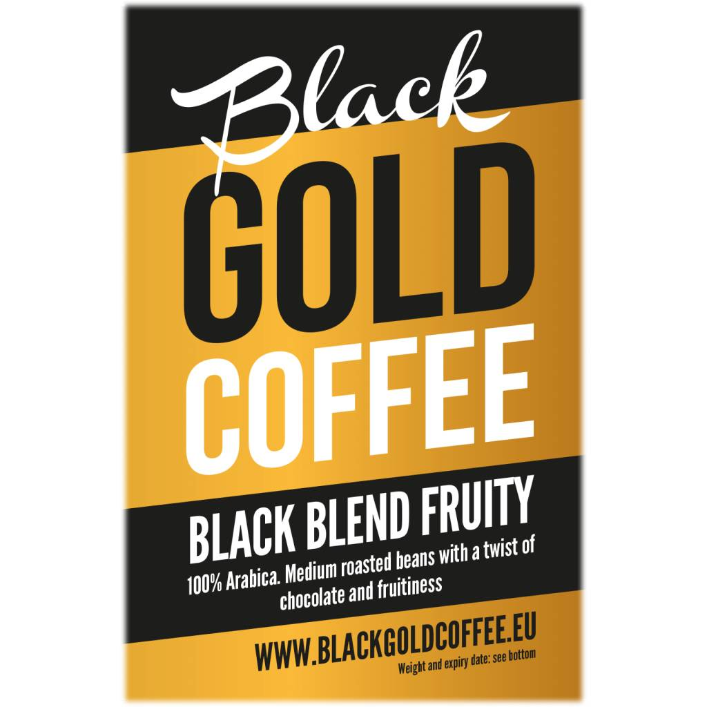 Black Gold Coffee Black Blend Fruity