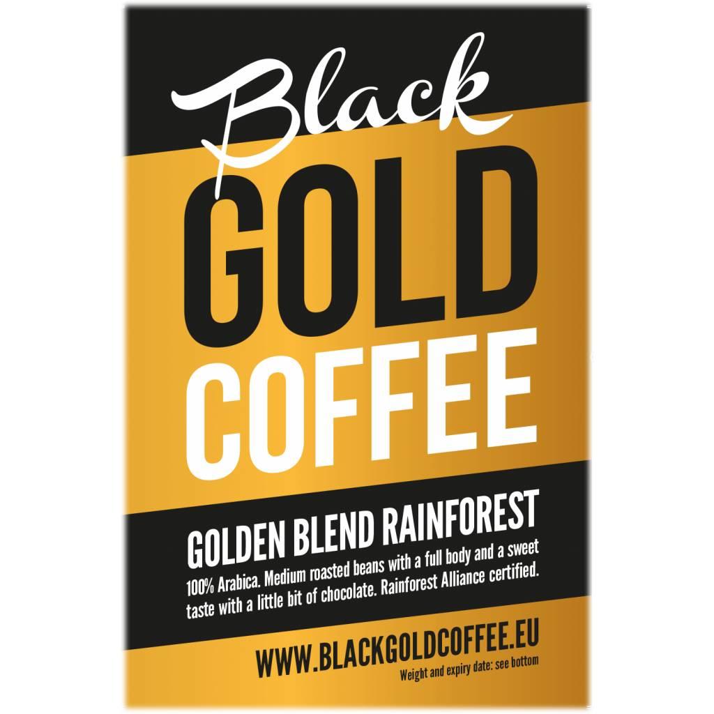 Black Gold Coffee Golden Blend Rainforest