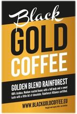 Black Gold Coffee Golden Blend Rainforest 250 gram