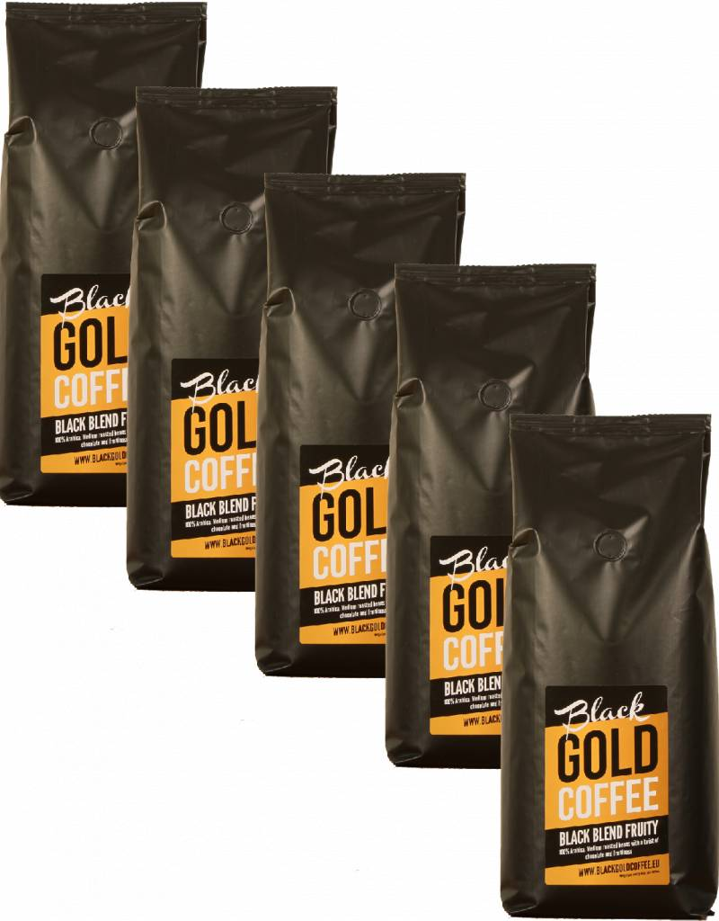 Black Gold Coffee Black Blend Fruity box