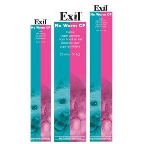 Exil Ontworm pasta