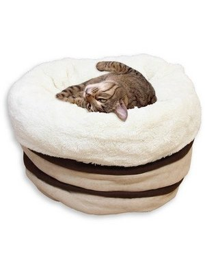 All for Paws Kattenbed Lambswool Honey Comb Bed