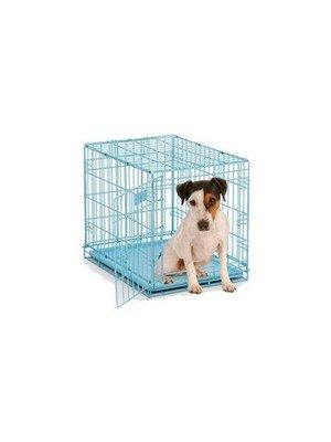 Blauwe hondenbench