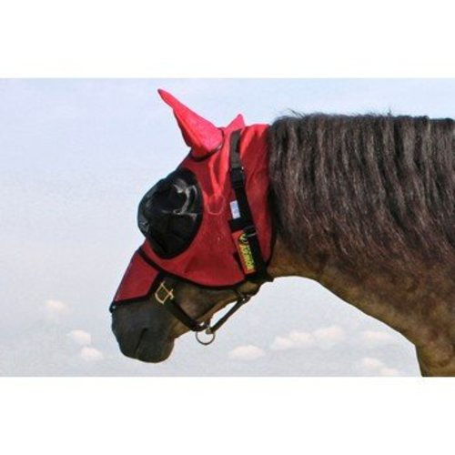 Horse Amor Knockdown mask one size (Insect shield)