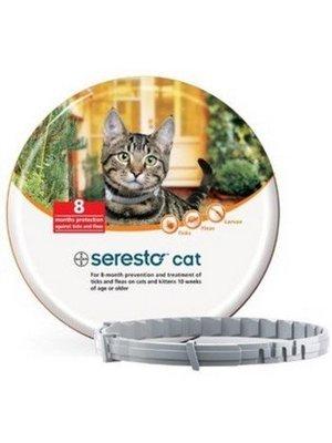 Seresto Vlooien tekenband kat