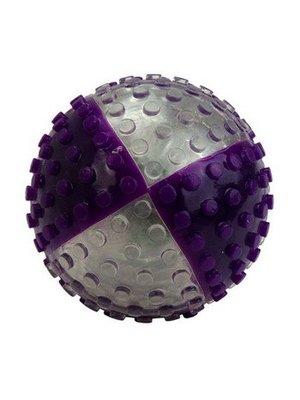 Vision Smart Visi Ball transparant/paars