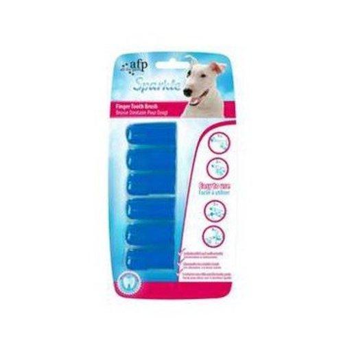 All for Paws Vinger tandenborstel (6pack)