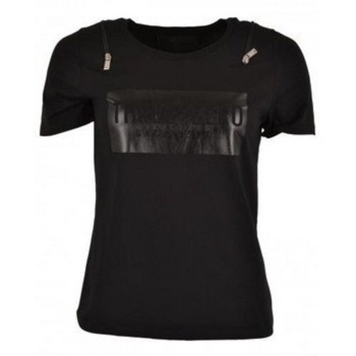 Nickelson Shirt Kingfisher zwart
