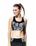 Yvette Sport-BH Slim Lines Long-Top