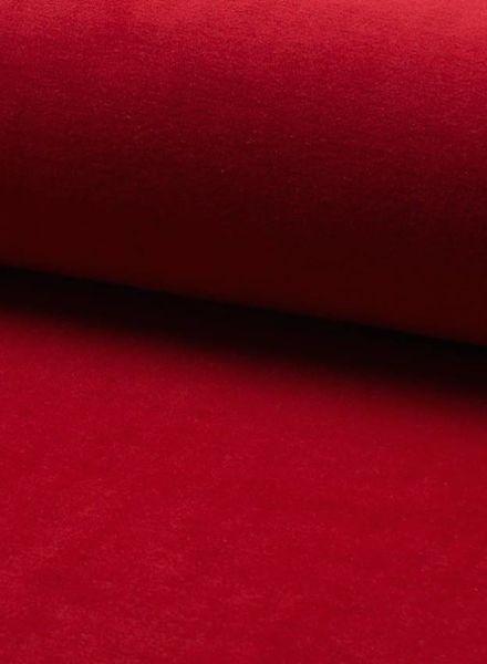 nicky velours rood