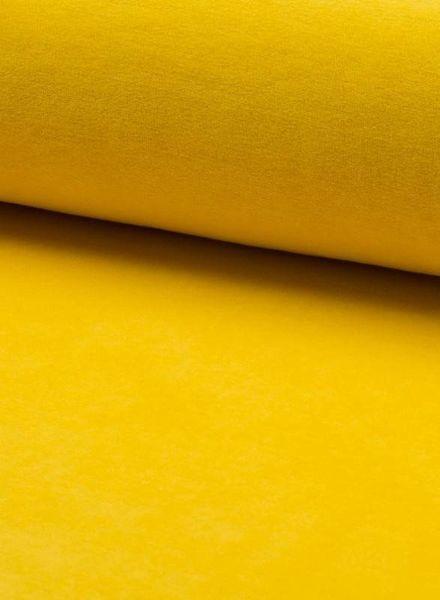 nicky velours licht geel