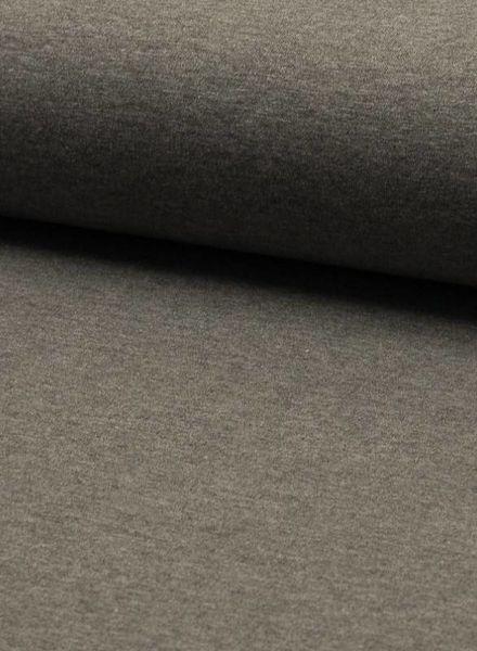 effen tricot grijs melee