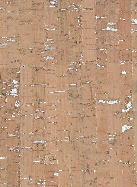 kurkleer bamboo met zilver