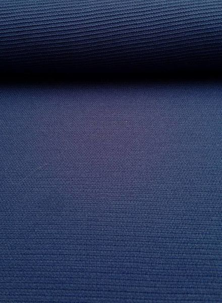 Editex koningsblauwe structuurtricot