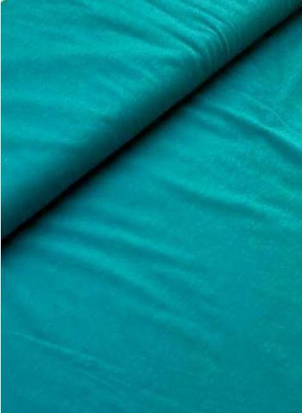 jersey knit heather melée turquoise