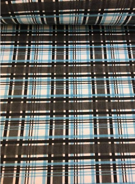 plaid - zwarte flanel