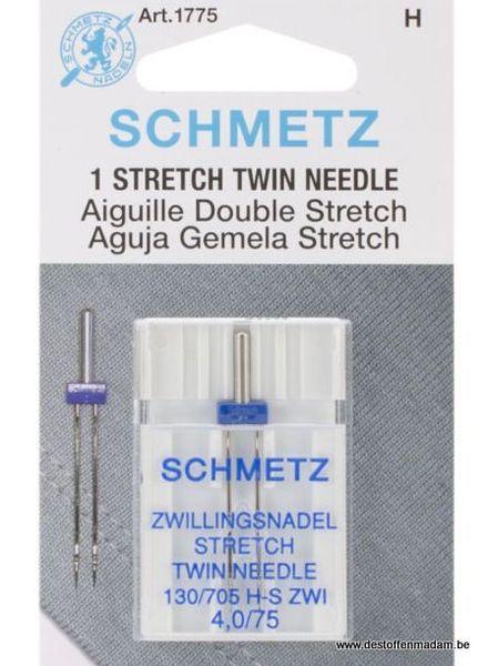 Schmetz - Stretch twin needle 75
