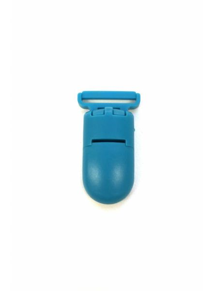 turquoise soother clip