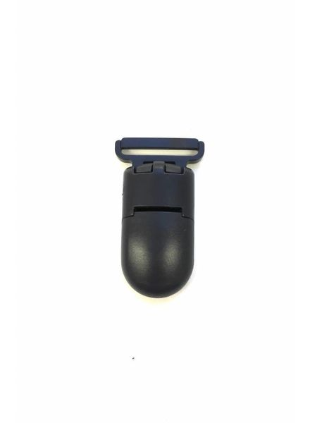 navy blue soother clip