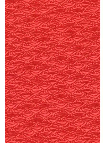 Timeless Treasures Fabrics dash scallop coral