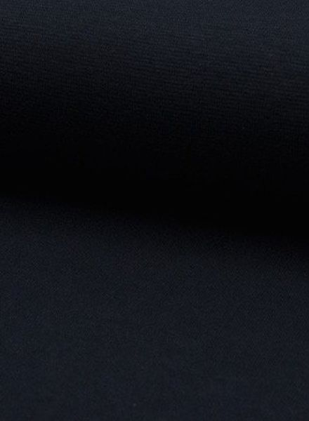 donkermarineblauwe boordstof