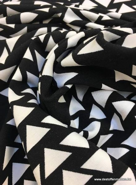 Swafing jersey - triangles black