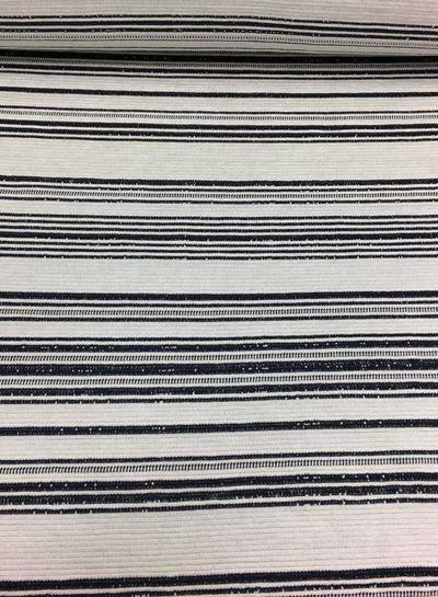 stretch jacquard - Lucie black
