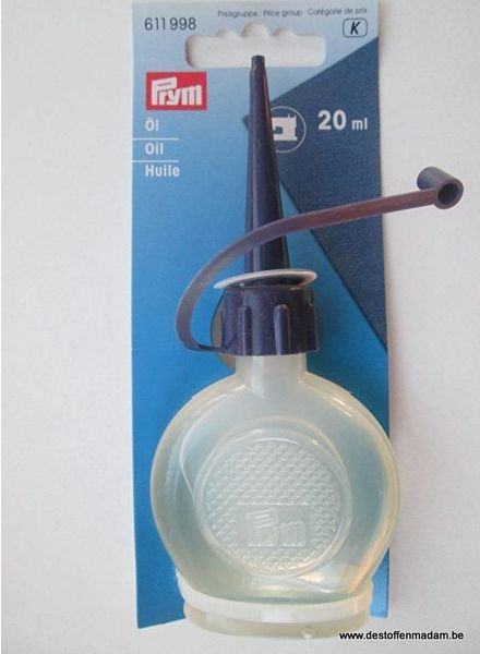 Prym oil for sewing machine