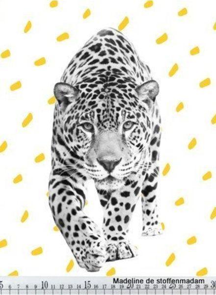 luipaard tricot paneel