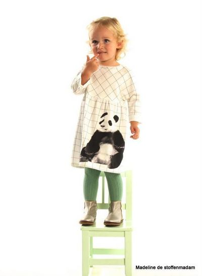 panda paneel tricot