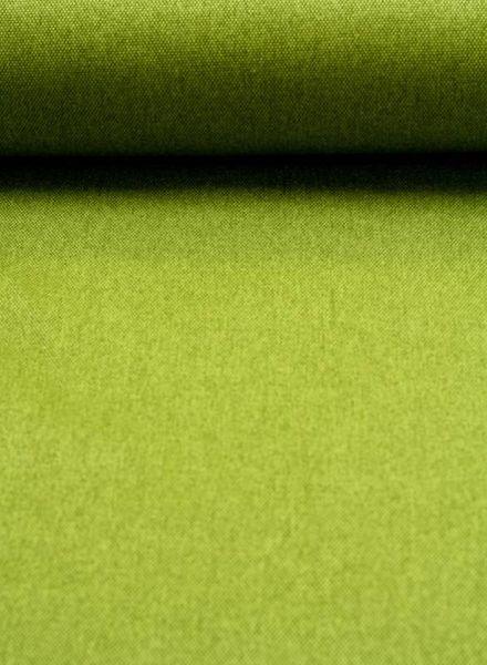 tassenstof grasgroen