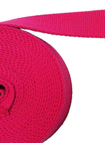 tassenband fel roze 32