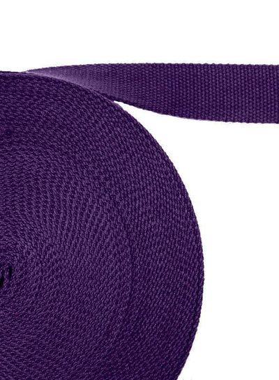 cotton webbing purple