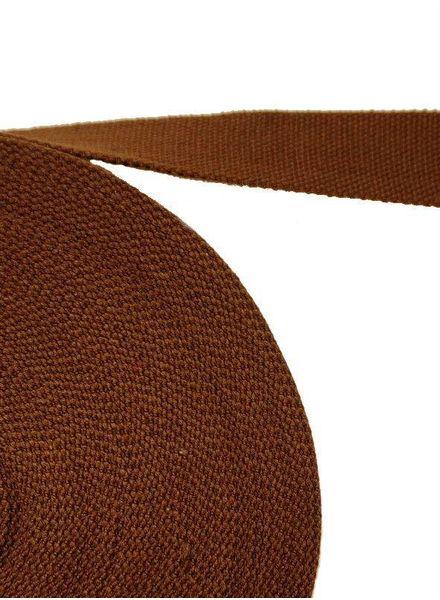 tassenband bruin 32