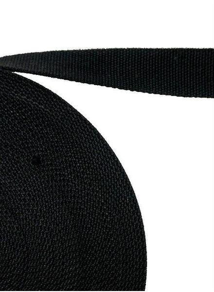 tassenband zwart 32