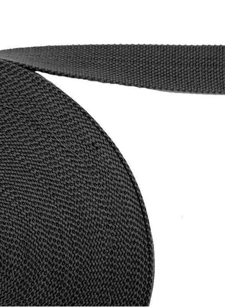 tassenband antraciet grijs 32