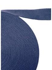 cotton webbing denim blue