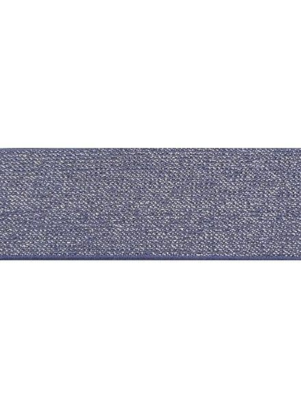 Glitter elastic lilac
