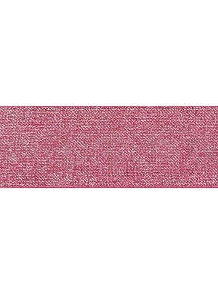 fuchsia 5cm glitter taille elastiek