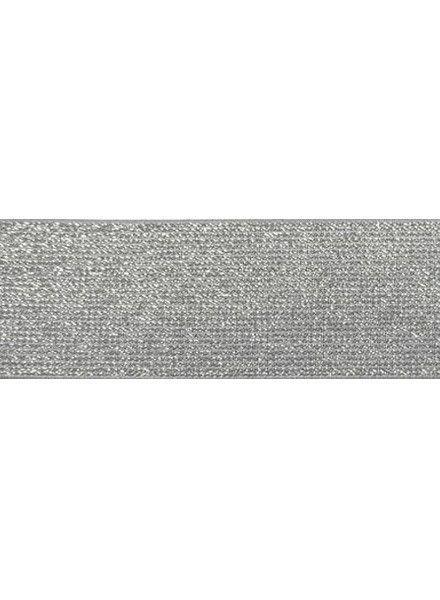 glitter taille elastiek grijs