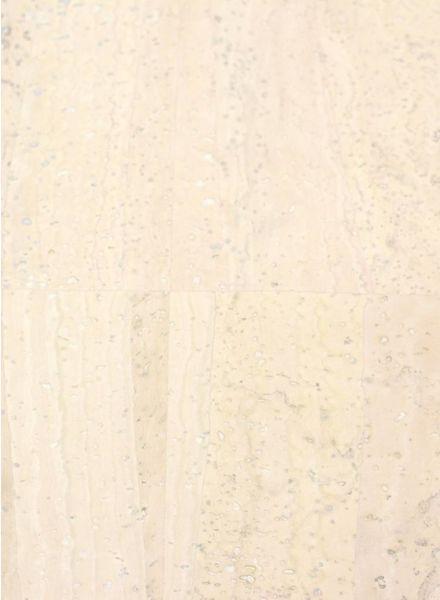 cork leather ivory