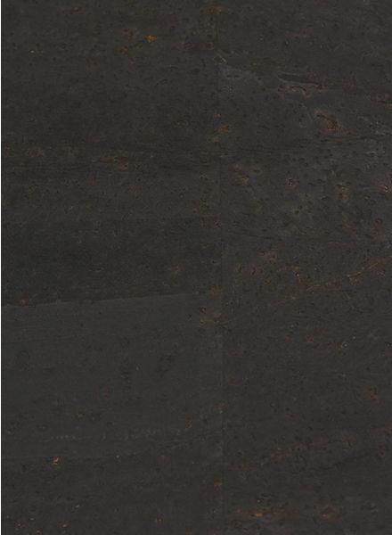 kurkleer zwart