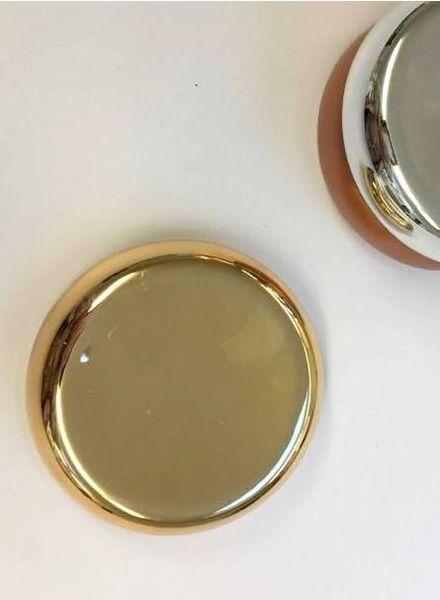 magnetisch speldenkussen - goud