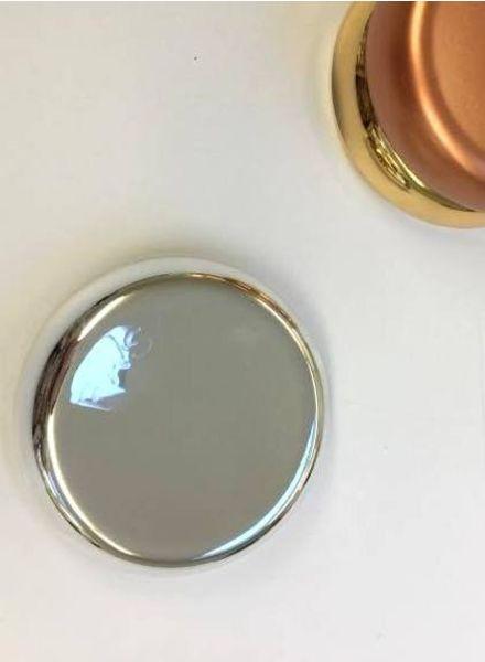 magnetisch speldenkussen - zilver