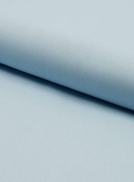 solid cotton pale blue